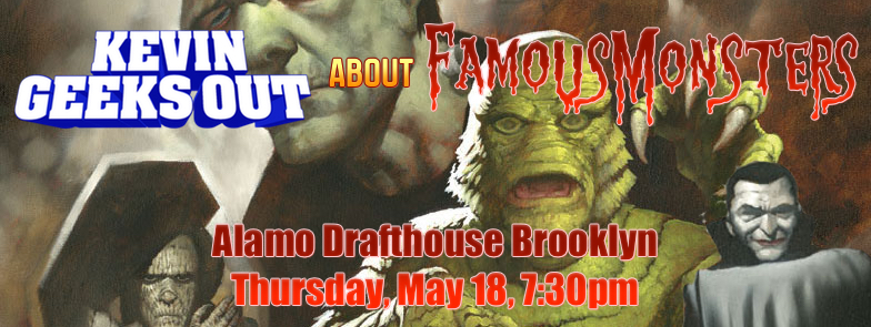 about FAMOUS MONSTERS (at Alamo Drafthouse)